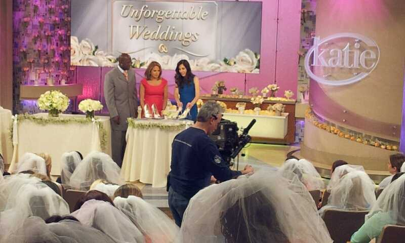 """Donald Driver co-hosts """"Katie"""" with Katie Couric."""