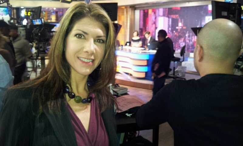 "WISN 12 News' Shelby Croft behind the cameras at ""Good Morning America."" You can watch her report on Donald's 'second act' Wednesday on WISN 12 News at 10:00."