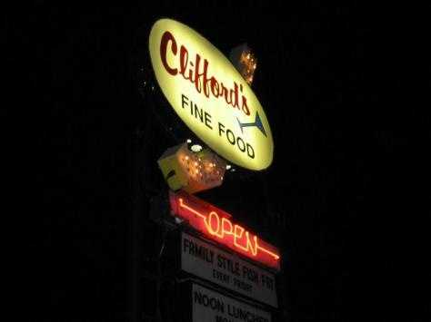 Clifford's Supper Club - 10418 W. Forst Home Ave., Hales Corners