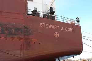 "The ""Stewart J. Cort"" was the first of the 1,000-foot ships on the Great Lakes."