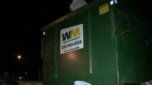 A body was found in a trash bag near a dumpster in Milwaukee.  WISN 12 News reporter Hillary Mintz reports from the scene.