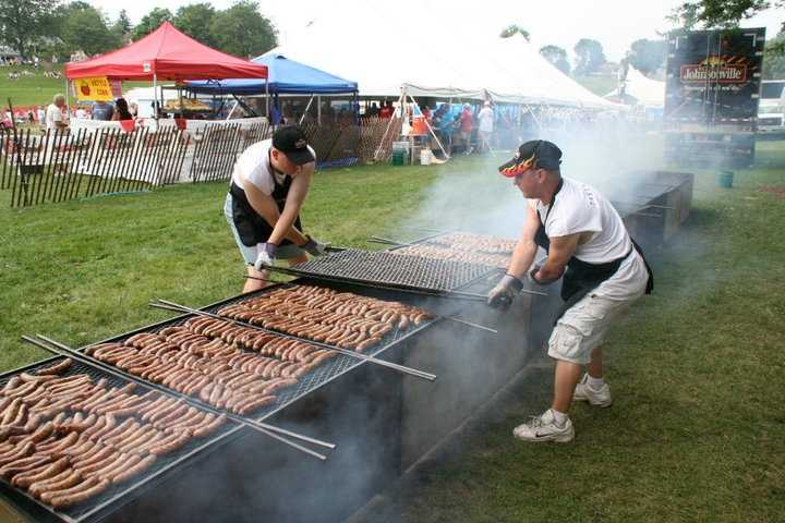 Sheboygan, Wis. - Bratwurst Capital of the WorldThe very German city has been producing Bratwurst since the mid 1800s. In 1953, the first official Bratwurst Day was proclaimed. The city will celebrate 60 years of its annual festival this year.