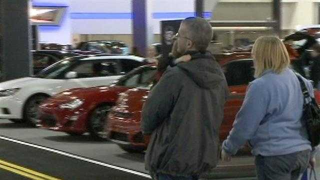 The Milwaukee Auto Show runs through next Sunday at the Delta Center in downtown Milwaukee.