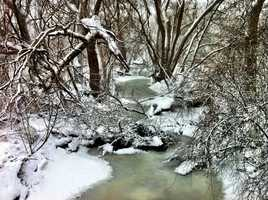 The Root River in Greenfield