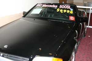1993 Mercedes 500 SL.