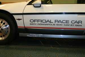 This Pace Car is a 1984 Fiero