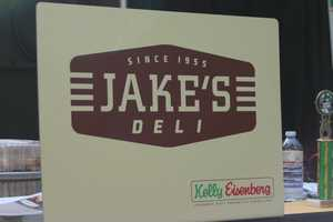 Corned beef sandwiches were provided by Jake's Deli, now with a restaurant at the Shops of Grand Avenue.