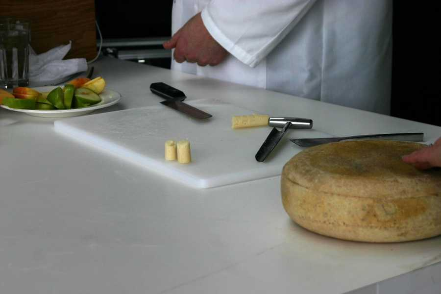 In even numbered years the World Championship Cheese Contest is held in Madison, WI.