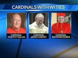 Cardinal James Michael Harvey is one of three men with Wisconsin ties inside the sistine chapel selecting the successor to Pope Emeritus Benedict XVI.