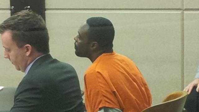 Kenneth Harris in court