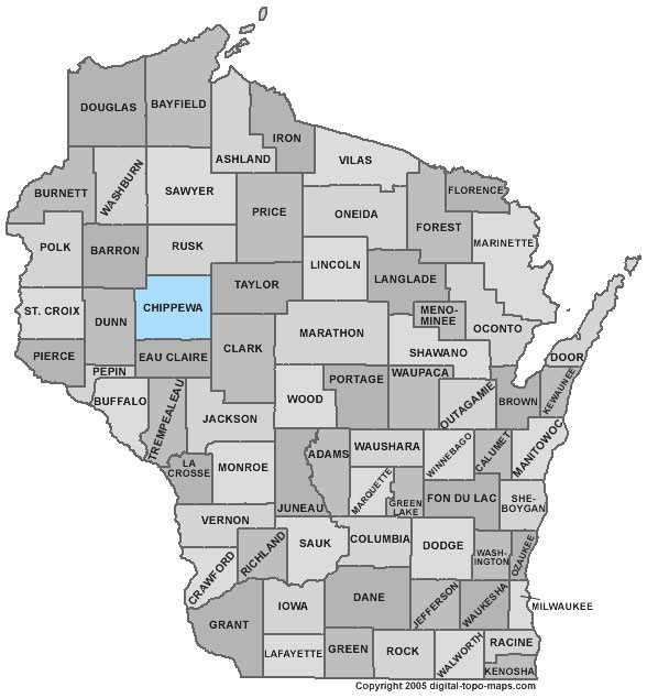 Chippewa County: 6.5 percent