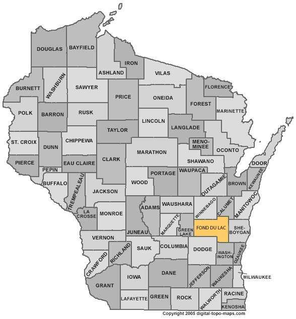 Fond du Lac County: 5.6 percent