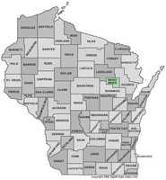 Menominee County: 2.3 percent