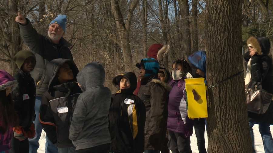 Thousands of schoolchildren come to the MacKenzie Center year-round for environmental education. Many kids stay on overnight field trips.