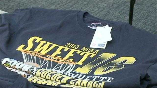 Marquette University is trying to make the most out of its trip to the Sweet 16.