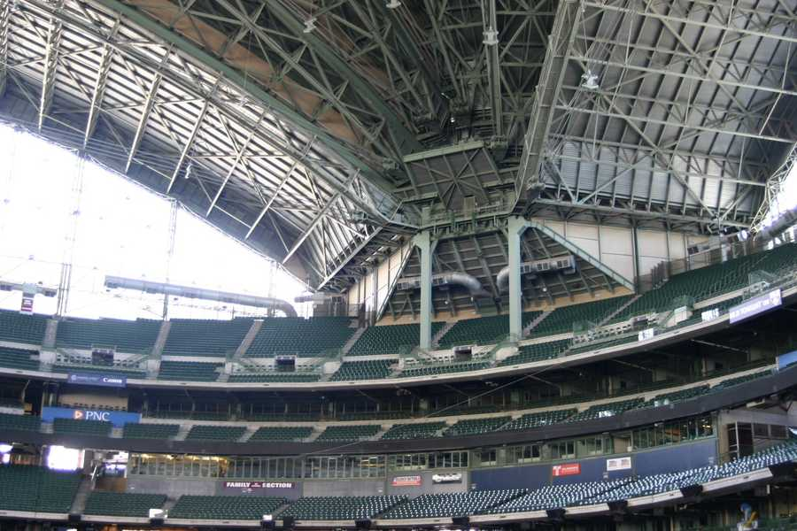In a change from past years, the roof has not been open since mid-December.