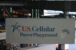 """The kids play area on the Field Level has been renamed the """"U.S. Cellular Power Playground""""."""