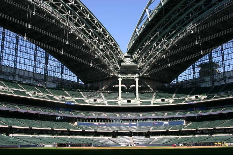 Click here to see how the grounds crew is preparing for Opening Weekend.