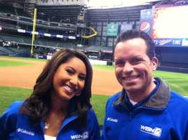 WISN 12 News anchors Marianne Lyles and Craig McKee