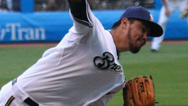 Yovani Gallardo, Milwaukee Brewers pitcher, 2009