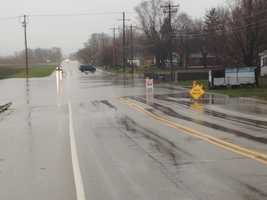 The Mount Pleasant Patch is also reporting Willow Road south of 16th Street is closed because of standing water.