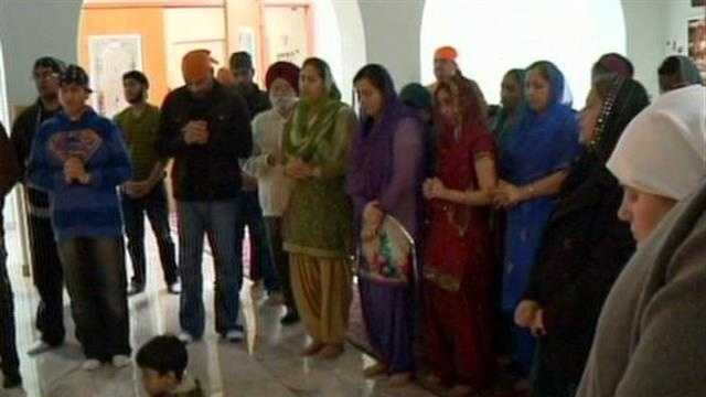 12 News Jason Newton reports from the Sikh Temple in Oak Creek.
