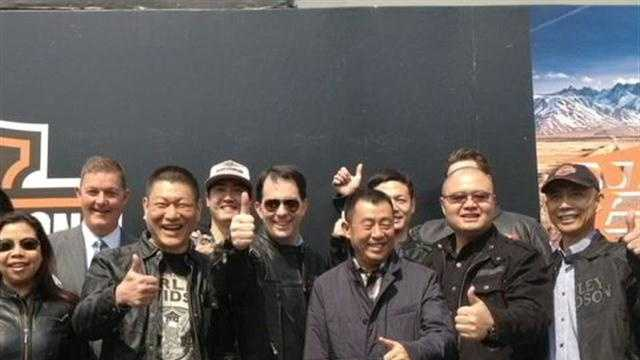 Walker in China