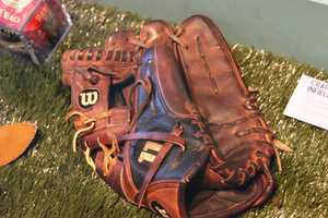 Graig Counsell's game used glove. Counsell is a former Milwaukee Brewer & Florida Marlin and is a Whitefish Bay, WI native.