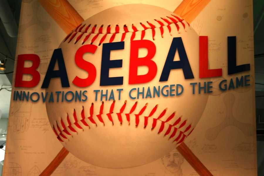 Baseball- Innovations that changed the game is a limited time exhibit on display at Discovery World until May 19th.