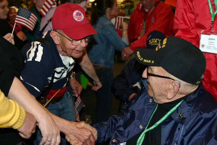 An estimated 25% of the June 8th flight will be Korean War vets.
