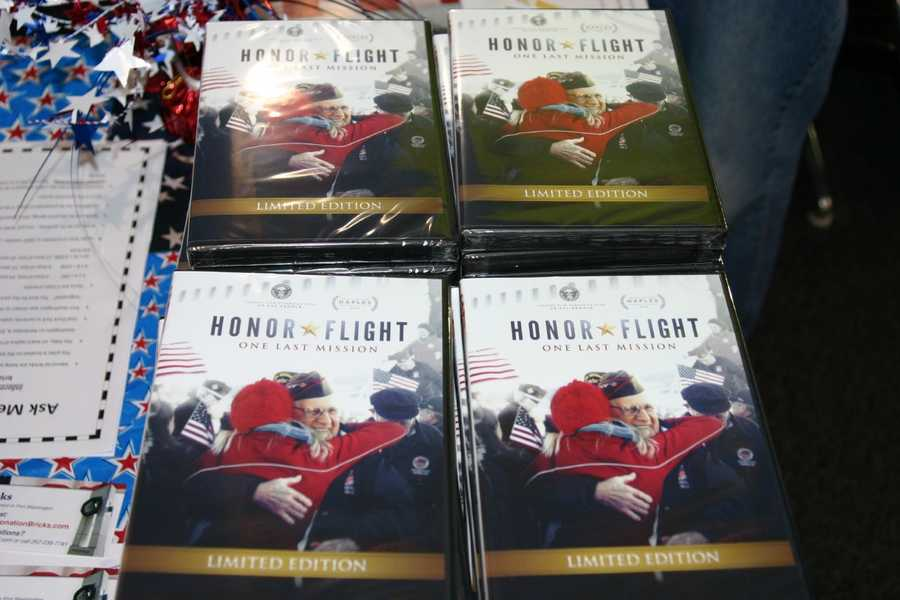"""Honor Flight"" the movie is a documentary that follows some of the participants."