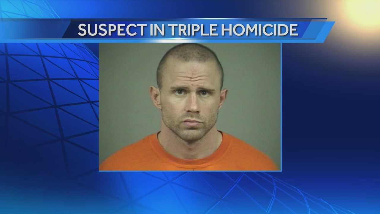 Triple homicide suspect caught in Waukesha