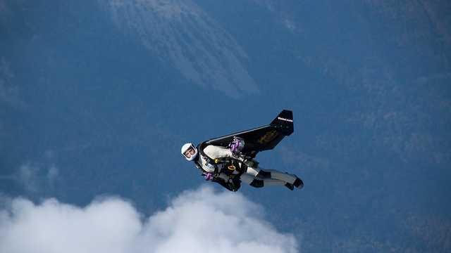 'Jetman' Yves Rossy
