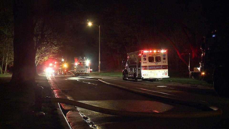 Fire at home in South Milwaukee