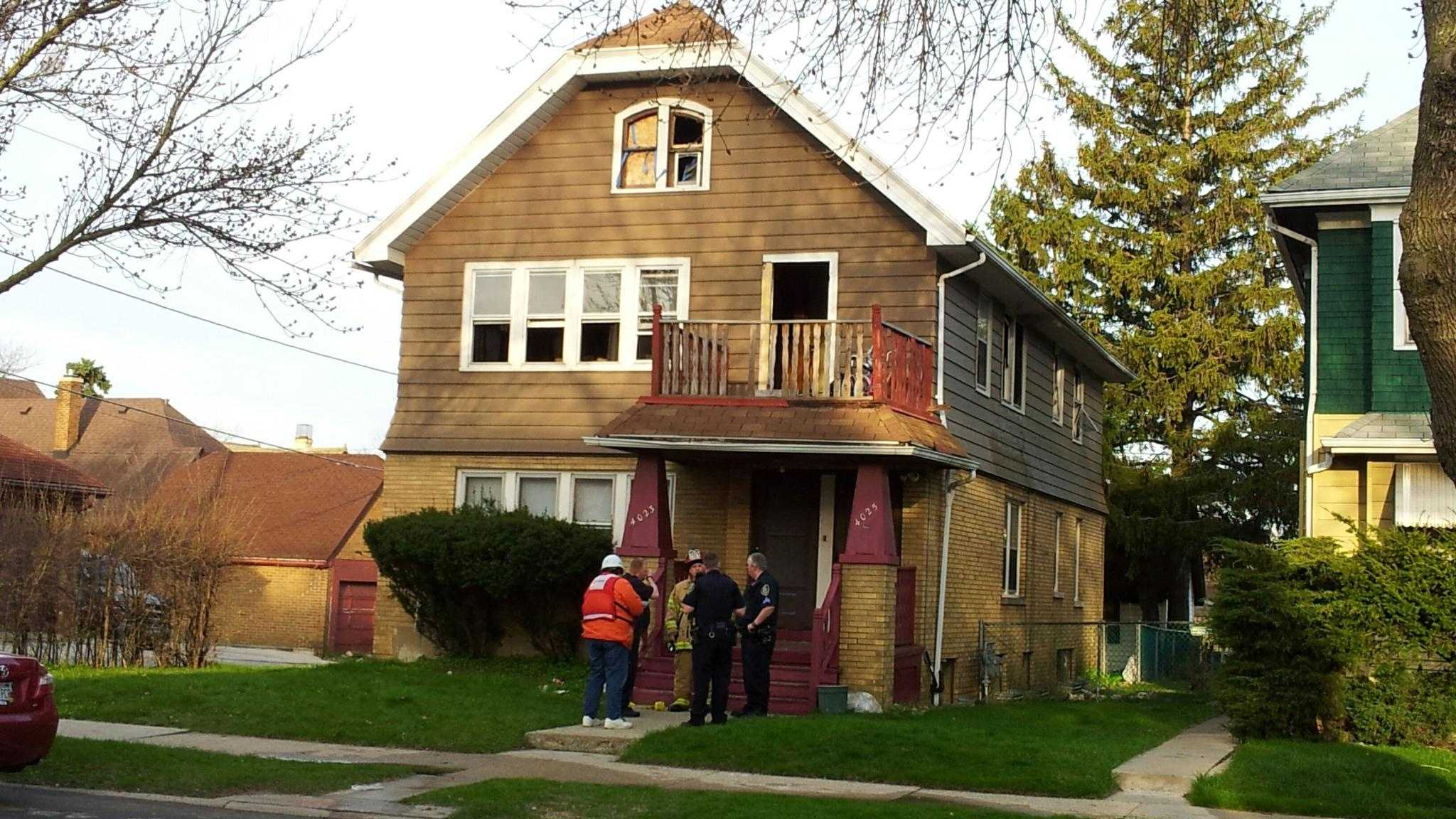 Fire damages home in Milwaukee