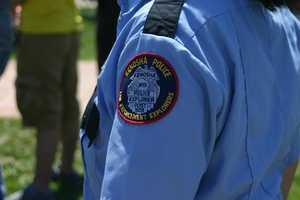 Kenosha Police Explorers were on hand for the service.
