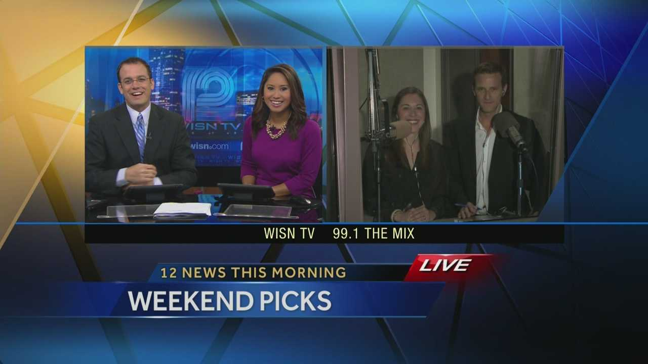 Watch Kidd O'Shea & Elizabeth Kay from 99.1 the Mix give their Mother's Day weekend picks on 12 News This Morning.