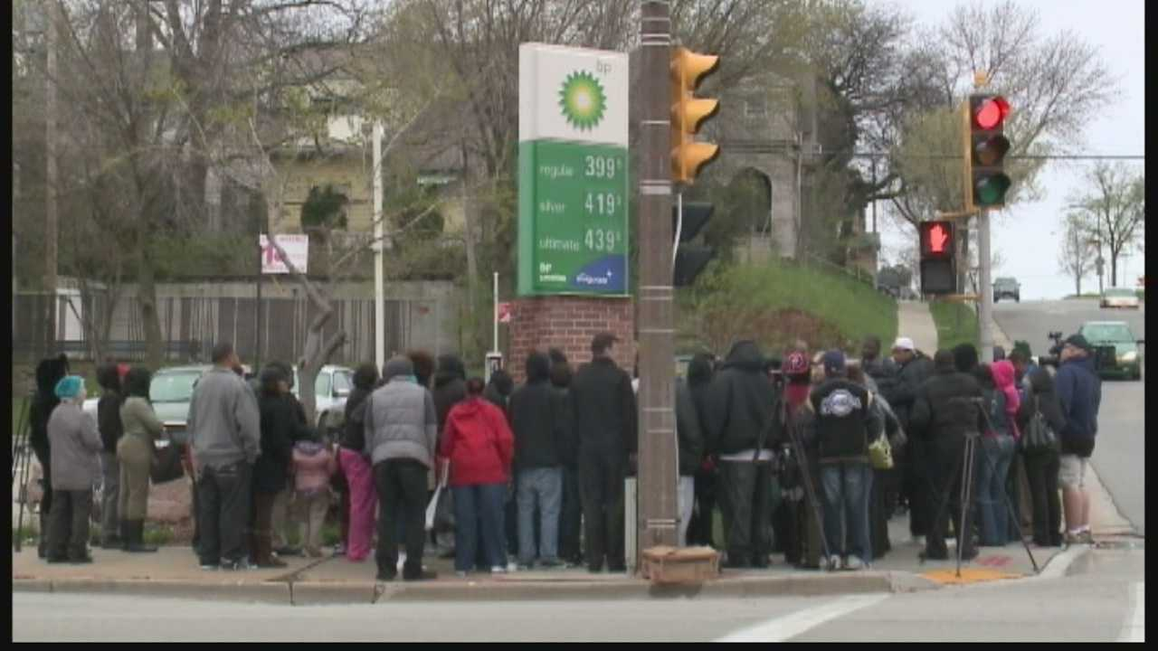 Vigil held for woman struck by vehcile