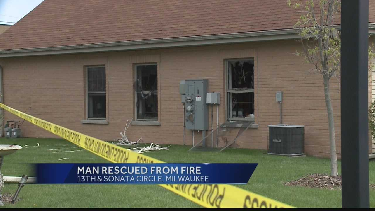 Milwaukee fire department was called to a house fire in the area of Sonata Circle.