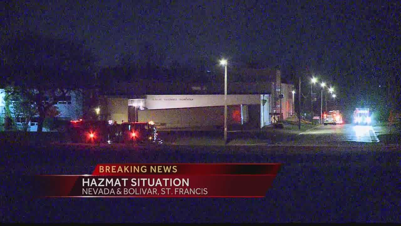 A small explosion was reported in a St. Francis chemical plant.  WISN 12 News' Hillary Mintz reports from the scene.