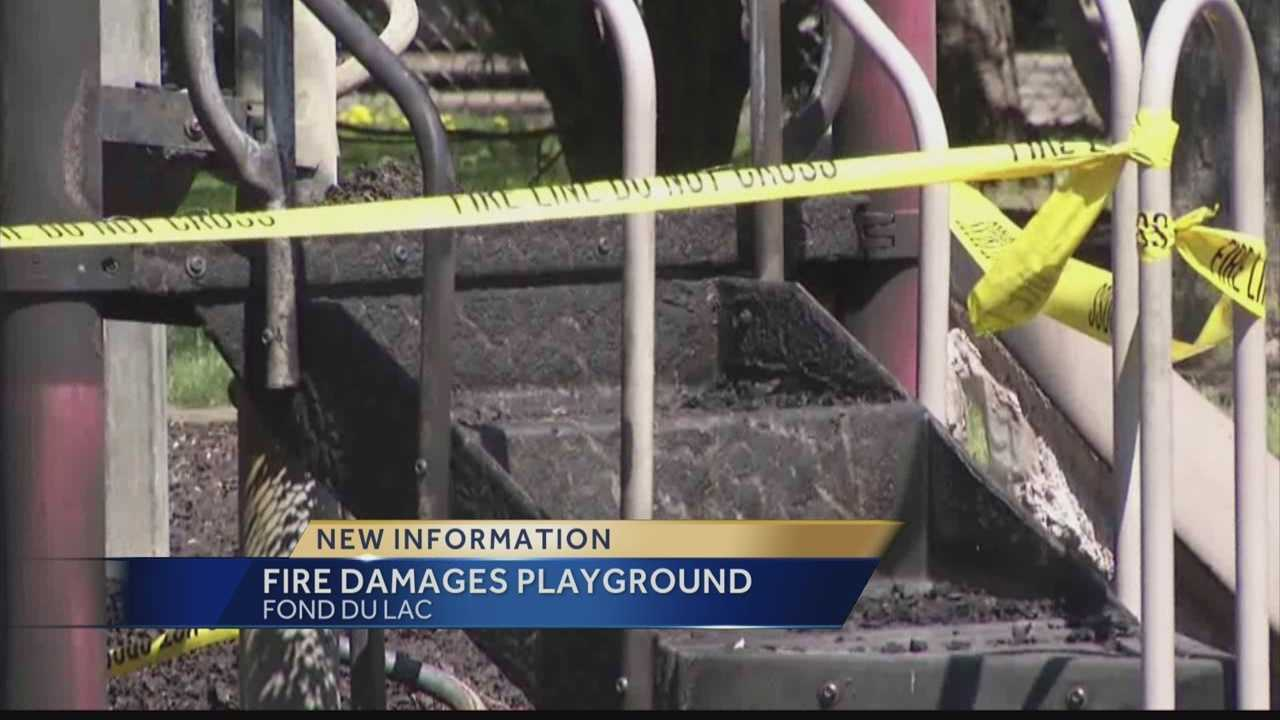 Fond du Lac authorites search for playground fire suspect