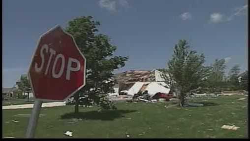 Eagle 2010 tornado damage