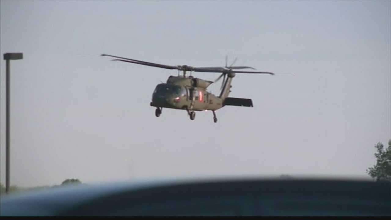 National Guard responds to Douglas County wildfire