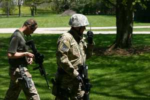 Additional SWAT members were added to the perimeter team.