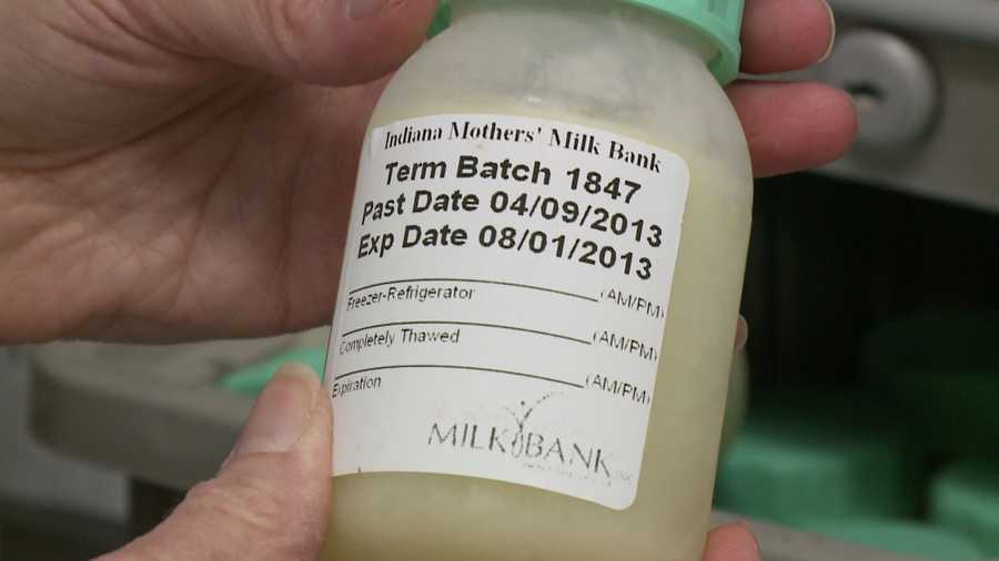 Hospital, Peer-To-Peer Networks Provide Donor Breast Milk-4960