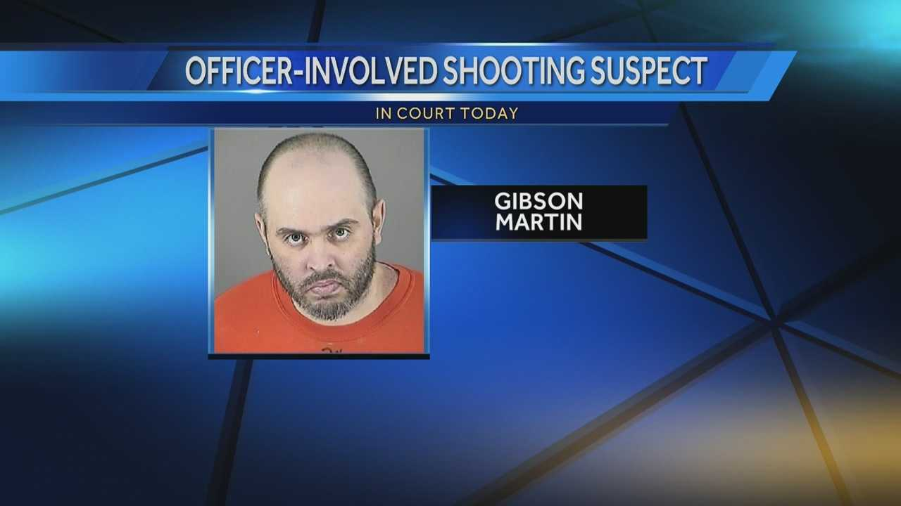 Gibson Martin, who was shot 14 times after charging at Waukesha officers while armed with knives, will make an appearance in court Tuesday.