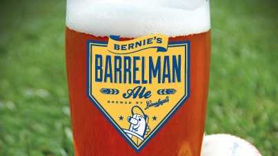 Milwaukee Brewers Barrelman Ale beer