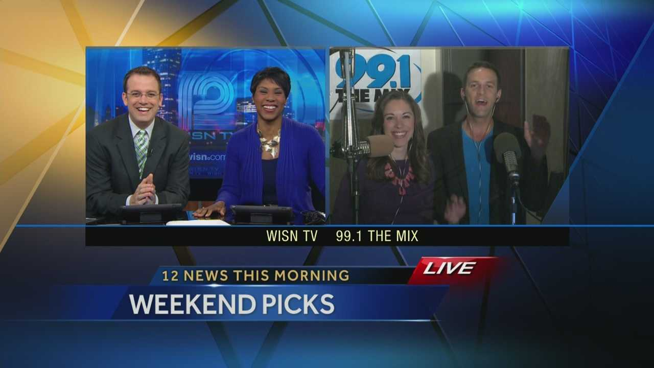 Kidd O'Shea and Elizabeth Kay from 99.1 the Mix talk about Memorial Day weekend events on WISN 12 News This Morning.