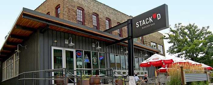 Stack'd Burger Bar - 170 South 1st St., Milwaukee