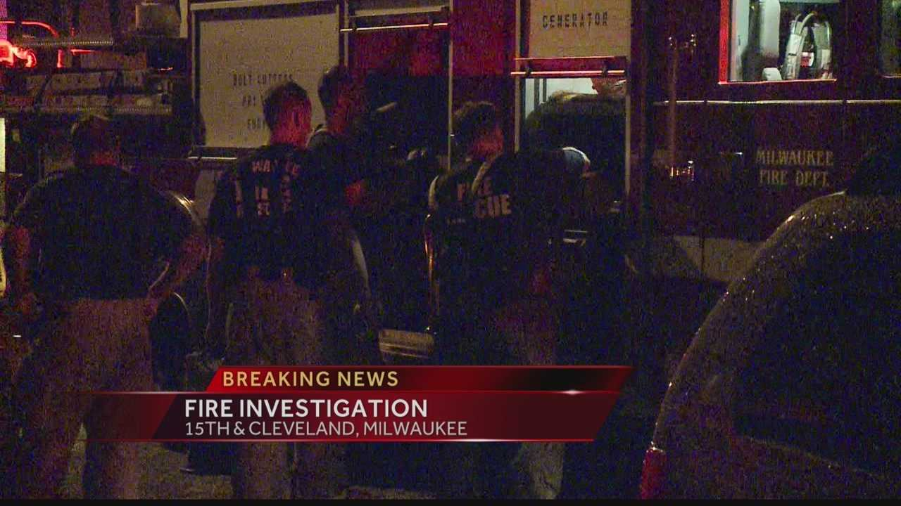 Milwaukee police are investigating a fire late Thursday night that caused $130,000 in damage.